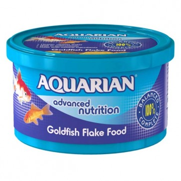 Aquarian Goldfish Flake Food 200g