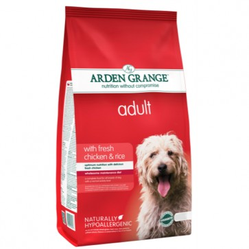 Arden Grange Adult Chicken & Rice Dog Food 12kg