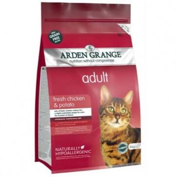Arden Grange Adult Chicken & Potato Cat Food 8kg