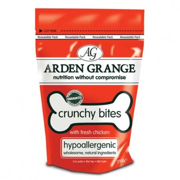 Arden Grange Chicken Crunchy Bites 250g