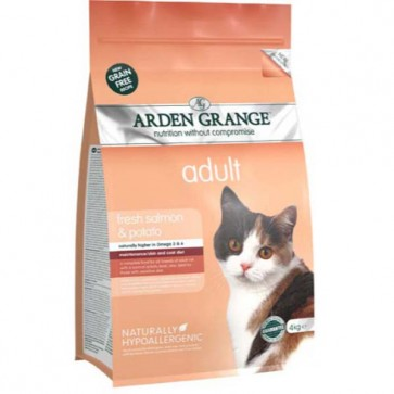 Arden Grange Salmon & Potato Cat Food 4kg
