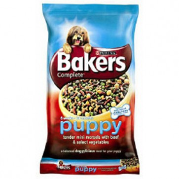 Bakers Puppy Beef & Vegetables Food 12.5kg