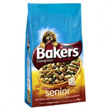 Bakers Senior Chicken & Rice Dog Food 12.5kg