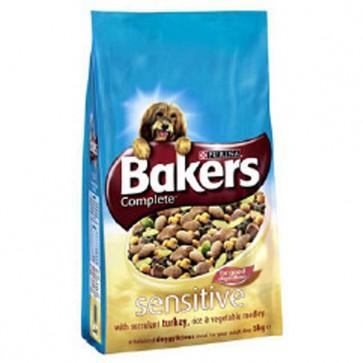 Bakers Sensitive Turkey & Rice Dog Food 12.5KG