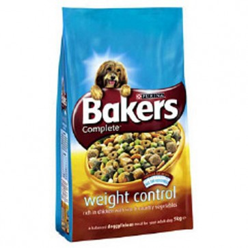 Bakers Weight Control Chicken & Rice Dog Food 12.5kg