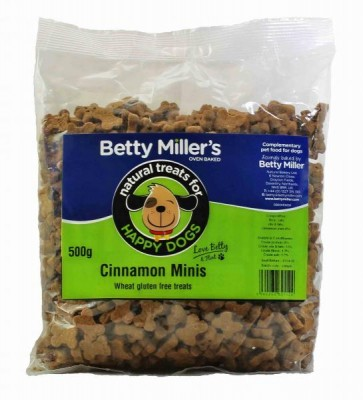 Betty Millers Cinnamon Minis 500g