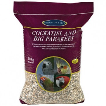 Big Parakeet & Cockatiel Seed 20kg