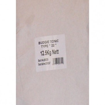 Budgie Tonic Seed 12.5kg
