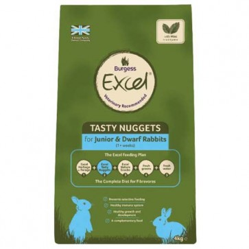 Supa Rabbit Excel Junior/Dwarf Food 10kg