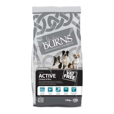 Burns Active Dog Food 12kg