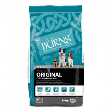Burns Chicken & Brown Rice Dog Food 15kg