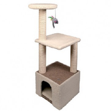 Canac Lion Cat Activity Scratching Centre