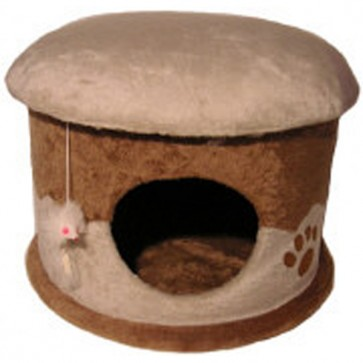 Ancol Super Pod Pouffe Sleeping Hide Away