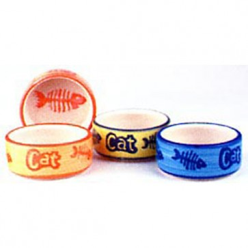 Mason & Cash Decorated Cat Bowls