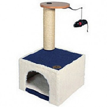 Canac Pioneer Cat Scratching Post & Hide Away