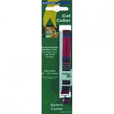 Ancol Tartan Safety Cat  Collar