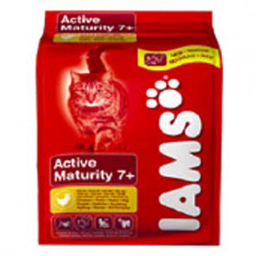 Iams Active Maturity Cat Food  (from 7 years)