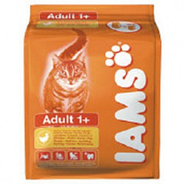 Iams Adult Cat Food Range