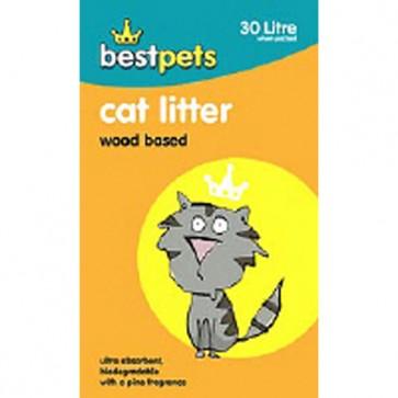 Bestpets Wood Based Cat Litter 18kg/30l