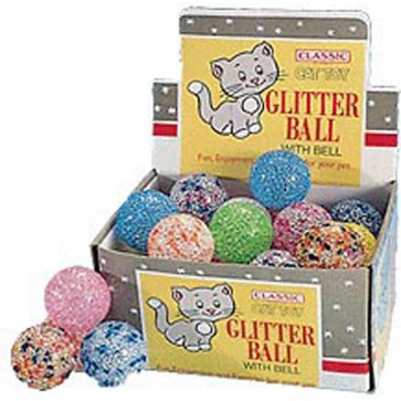 Glitter Balls Various Colours For Cats