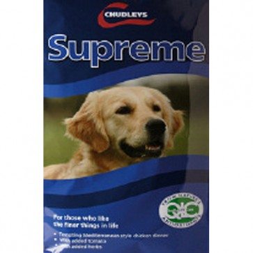 Chudleys Supreme Dog Food 15kg