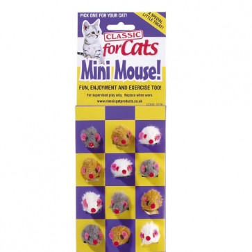 Classic Furry Mini Mouse For Cats