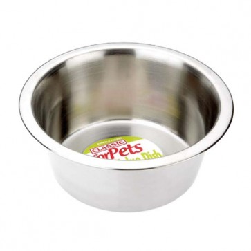 Classic Stainless Steel Cat Bowl