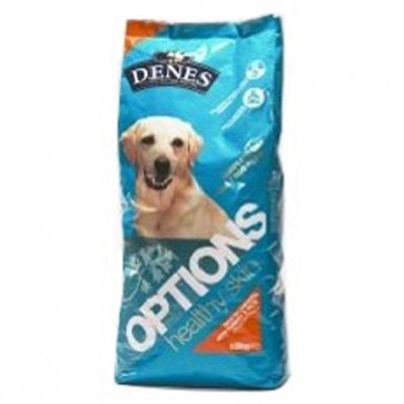 Denes Adult Options Plus Herbs Healthy Skin -  Turkey & Rice Dog Food 15kg