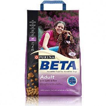Beta Adult Lamb & Rice Dog Food 15kg