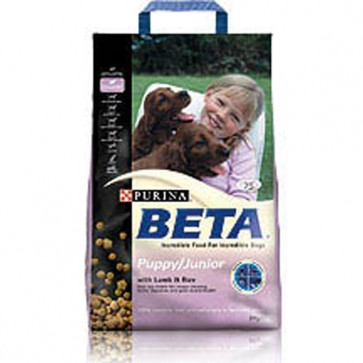 Beta Puppy/Junior Lamb & Rice Food 15kg