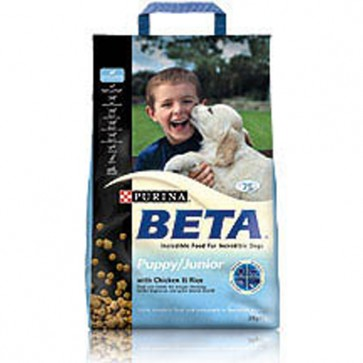Beta Puppy/Junior Chicken & Rice Food 15kg