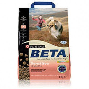 Beta Sensitive Adult Salmon & Rice Dog Food 15kg
