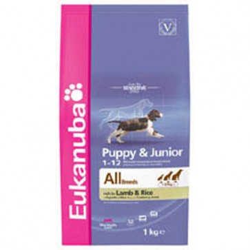 Eukanuba Puppy/Junior Lamb & Rice Food 15kg