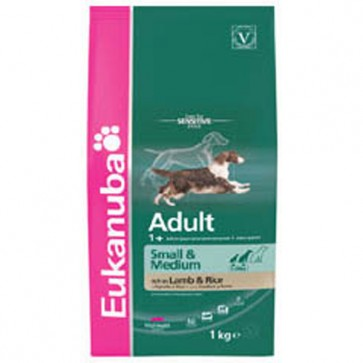 Eukanuba Adult  Maintenance Small & Medium Breed Dog Food  15KG