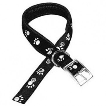 Reflective Dog Collar - Black