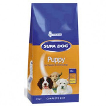 Burgess Supa Dog Puppy Food 15kg