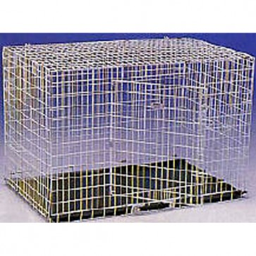 Shaws Fold Flat Car Dog Crate (Front Opening)