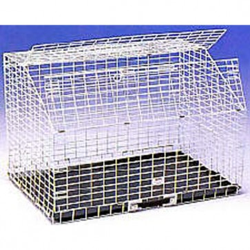 Shaws Fold-Flat Hatchback Car Cat Crate