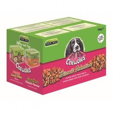 Fold Hill Chewdles Biscuit Selection 10kg