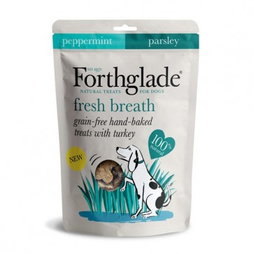 Forthglade Fresh Breath Dog Treats 150g