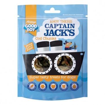 Good Boy Captain Jacks Cod Chunks