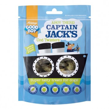 Good Boy Captain Jacks Cod Twisters