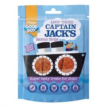 Good Boy Captain Jacks Salmon Strips