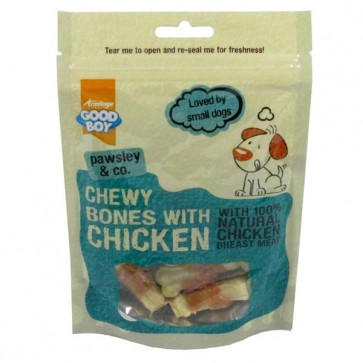 Good Boy Chewy Bones with Chicken