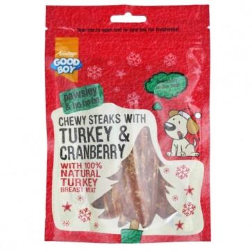 Good Boy Chewy Steaks with Turkey & Cranberry