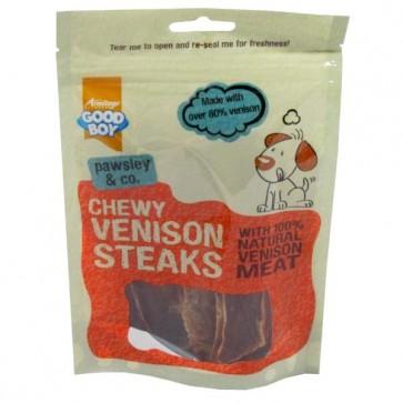 Good Boy Chewy Venison Steaks