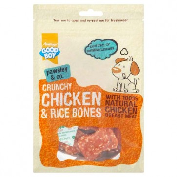 Good Boy Crunchy Chicken & Rice Bones
