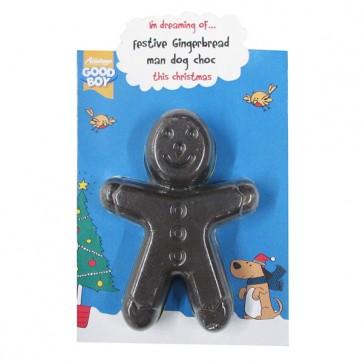 Good Boy Gingerbread Man Dog Chocolate