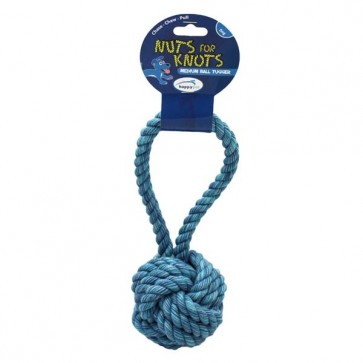Happy Pets Nuts for Knots Ball Tugger