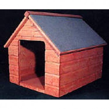 Flat Pack Shiplap Dog Kennel